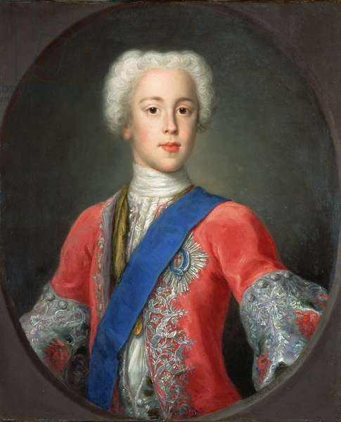 Prince Charles Edward Stewart, 1732 (oil on canvas)