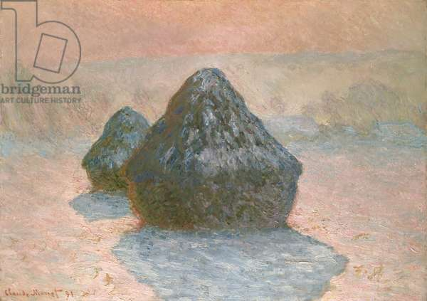 Haystacks: Snow Effect, 1891