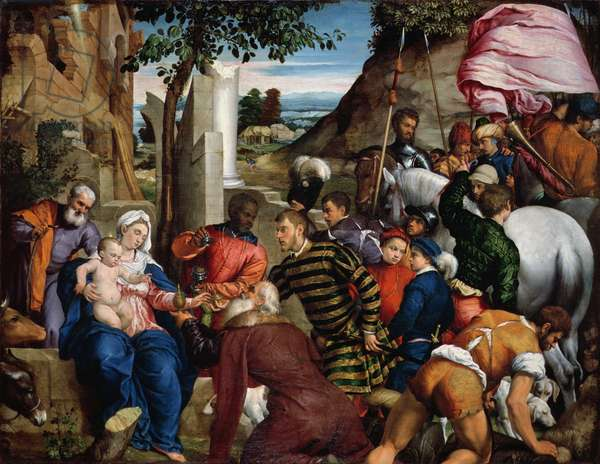 The Adoration of the Kings, early 1540s (oil on canvas)