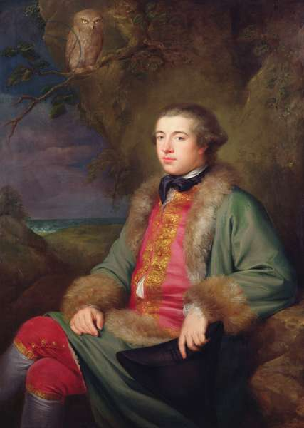 James Boswell, 1765 (oil on canvas)