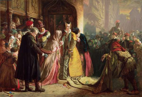 Return of Mary, Queen of Scots, to Edinburgh (oil on canvas)