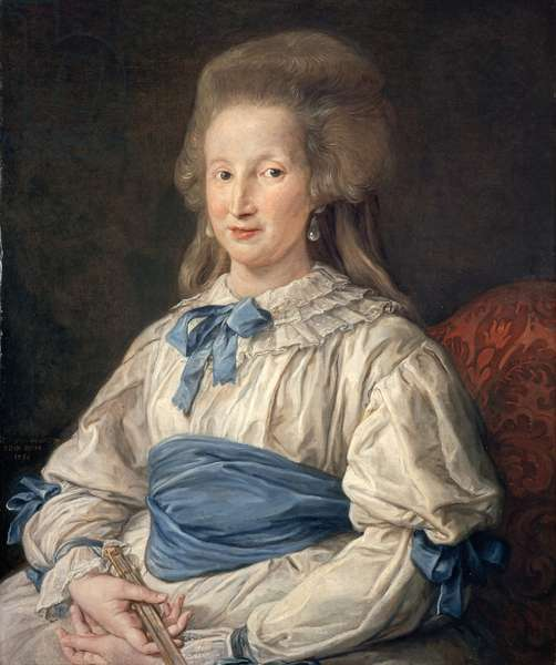 Princess Cecilia Mahony Giustiniani, 1785 (oil on canvas)