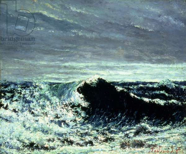 The Wave, c.1869 (oil on canvas)