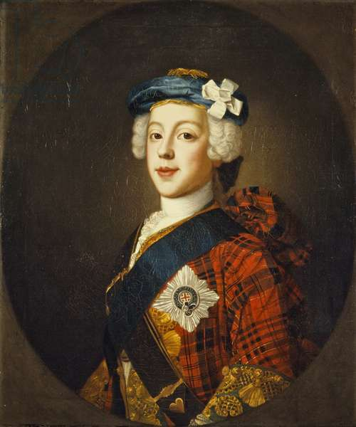 Prince Charles Edward Stuart, c.1750 (oil on canvas)