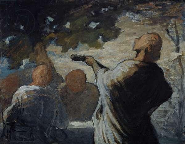 The Serenade, c.1858 (panel)