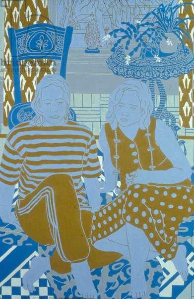 The Studio Window, 1996 (oil on board)
