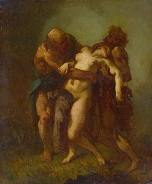 Susanna and the Elders, c.1846-49 (oil on canvas)