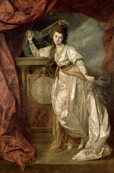 Elizabeth Farren (c.1759-1829) as Hermione in 'The Winter's Tale', c.1780 (oil on canvas)
