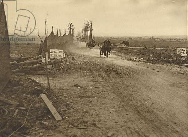 Hellfire Corner, 1917 (gelatin silver print)
