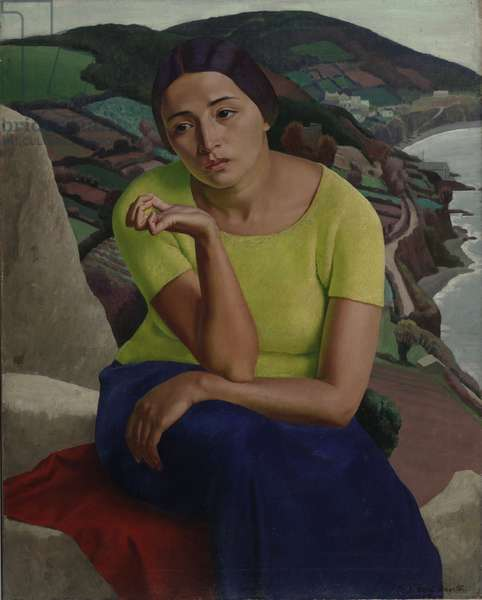 In a Strange Land, 1919 (oil on canvas)