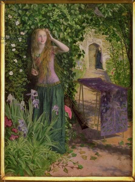 Fair Rosamund, 1854 (oil on panel)