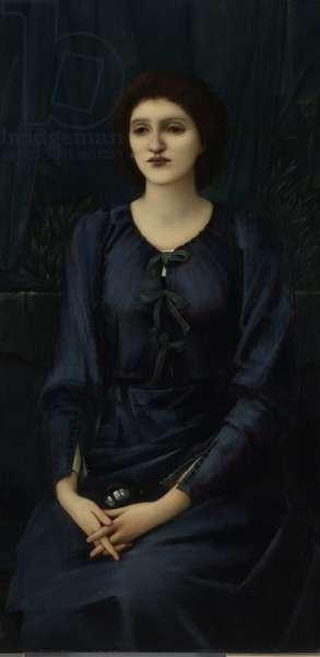 Portrait of Baronne Madeleine Deslandes, 1895-96 (oil on canvas)