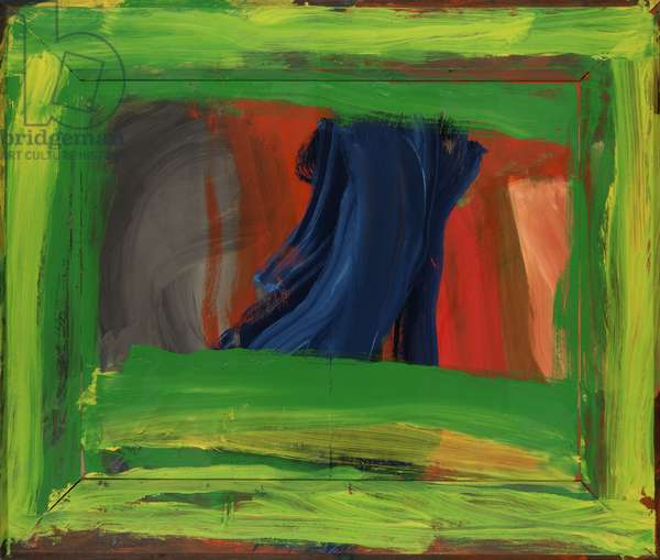 Night and Day, 1997-99 (oil on plywood on wood)