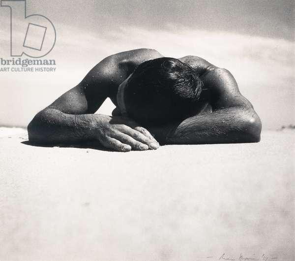 Sunbaker, 1937 (gelatin silver photo)