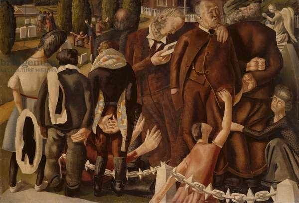 Parents Resurrecting, c.1933 (oil on canvas)