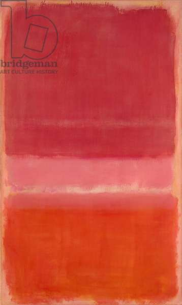 Untitled (Red) c.1956 (oil on canvas)