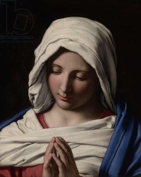 Madonna in Prayer, c.1640-50 (oil on canvas)