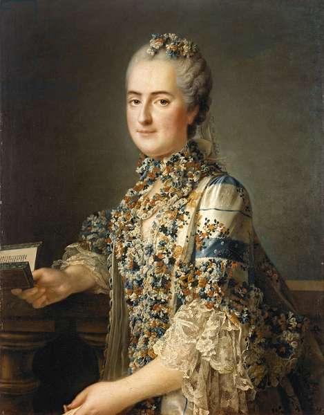 Madame Sophie de France (1734-82) 1763 (oil on canvas)