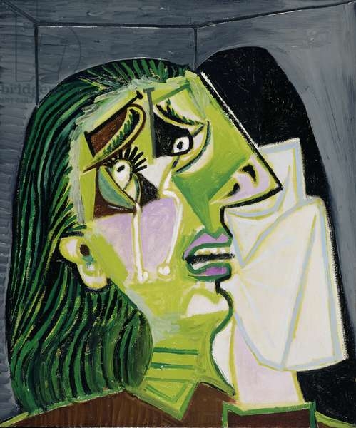Weeping Woman, 1937 (oil on canvas)