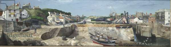 Low Tide, Porthleven, 1937 (oil on canvas)