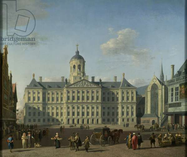 The Town Hall, Amsterdam, 1690 (oil on canvas)