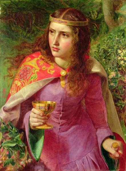Queen Eleanor, 1858 (oil on canvas)