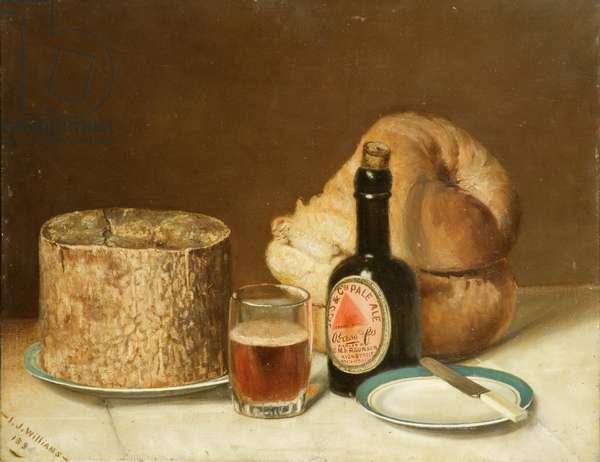 Still life, 1895 (oil on canvas)
