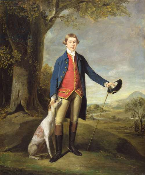 Watkin E. Wynne, 1770 (oil on canvas)
