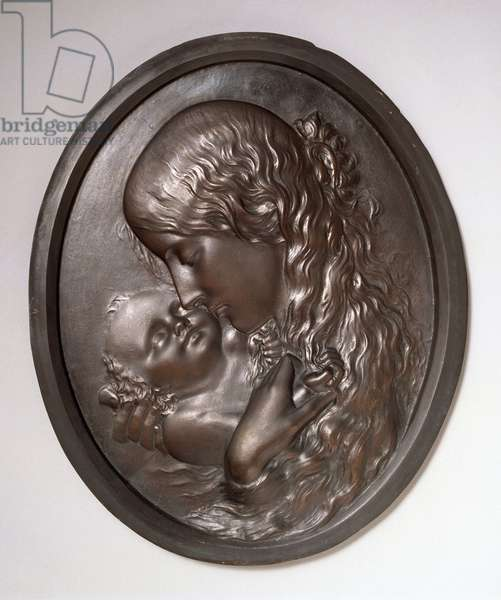 Mother and Child relief (bronze)