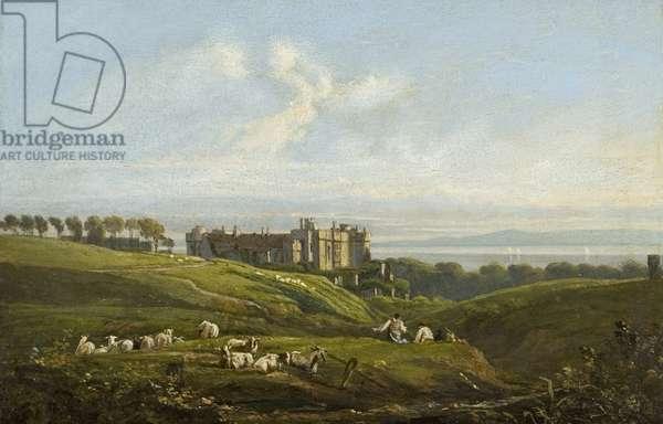 St. Donat's Castle, 1820 (oil on panel)