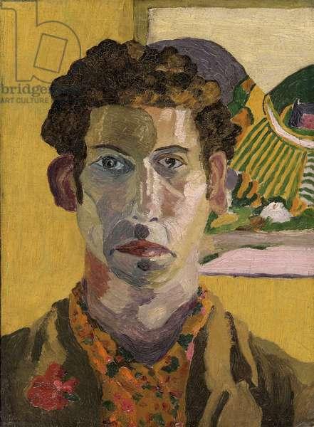 Self Portrait, 1919 (oil on millboard)