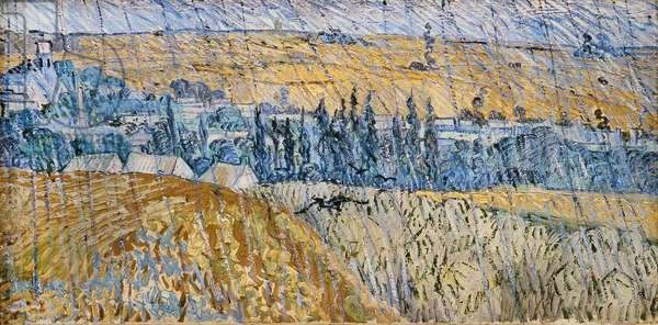 Rain - Auvers, 1890 (oil on canvas)