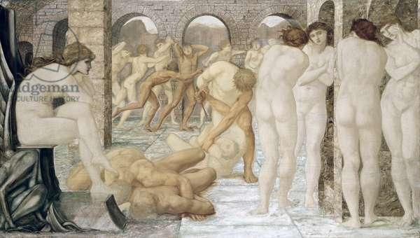 Venus Discordia (oil on canvas)