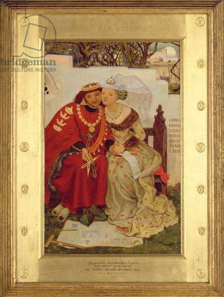 King Rene's Honeymoon, 1864 (oil on canvas)