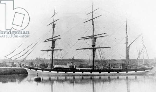 The Ship 'Moel Rhiwen' (b/w photo)