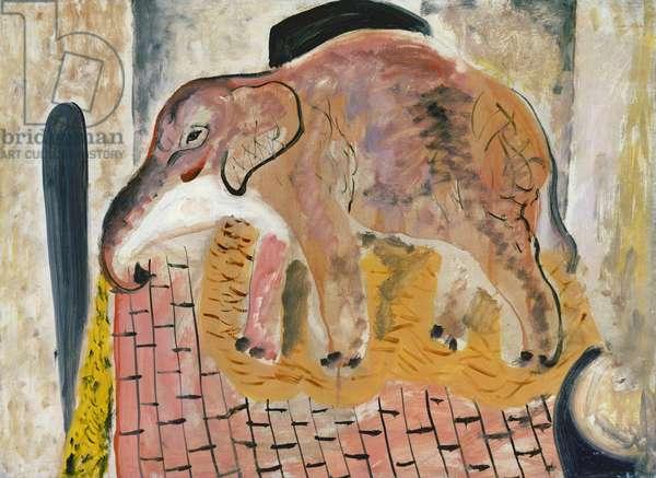 Elephant, 1928 (oil on canvas)