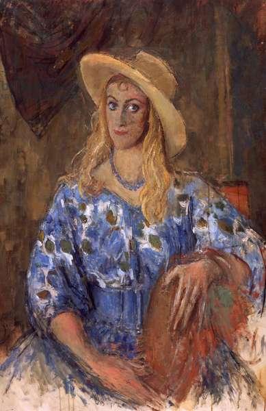 Clarissa (oil on canvas)