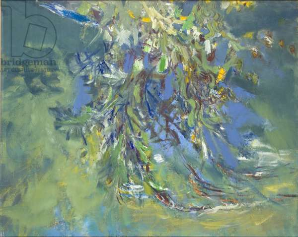 Weeping Willow (oil on canvas)