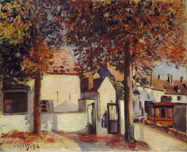 Moret-sur-Loing (Rue de Fosses), 1892 (oil on canvas)