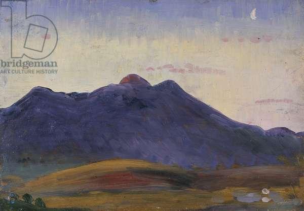 Arenig (oil on panel)