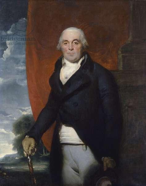 Thomas Williams of Llanidan (1737-1802) (oil on canvas)