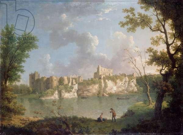 Chepstow Castle (oil on canvas)