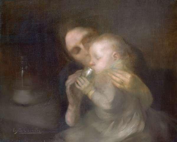 The Tin Mug (oil on canvas)