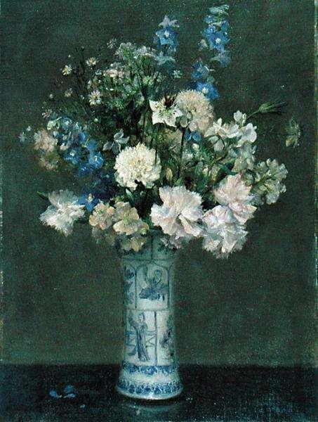 Flower Piece, 1906 (oil on canvas)