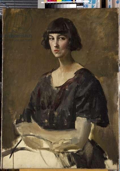 Portrait of a Woman, c.1938 (oil on canvas)