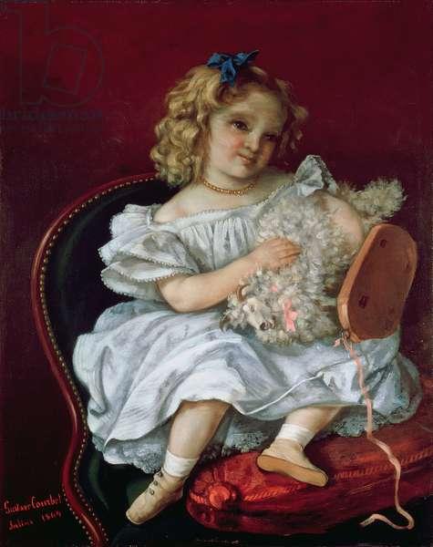 Beatrice Bouvet (b.1861) 1864 (oil on canvas)