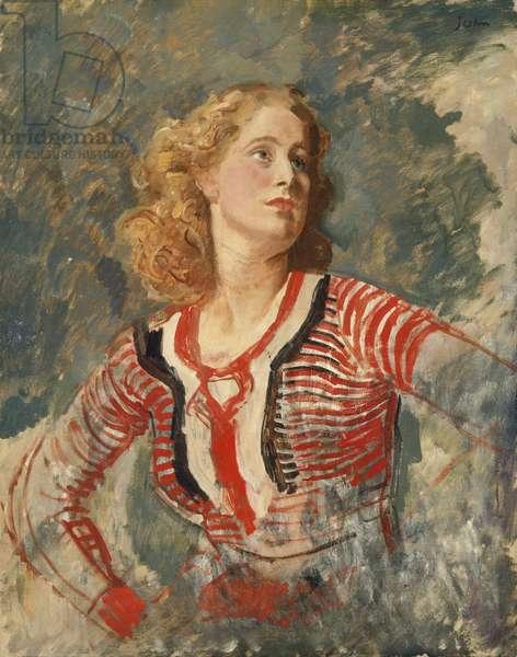 Caitlin Macnamara (oil on canvas)