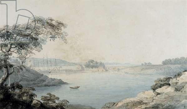 Port Penrhyn (w/c & pencil on paper)