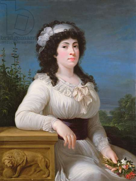 Maria Morigia Reina (oil on canvas)