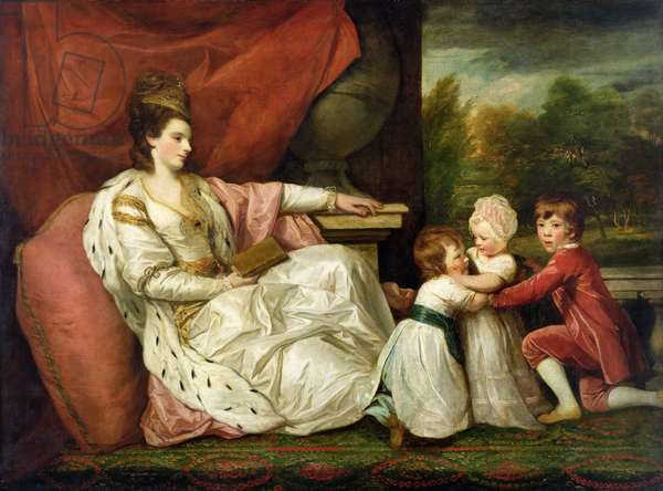Charlotte Grenvill (Lady Williams-Wynn) and her Children, c.1788 (oil on canvas)
